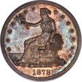 Trade Dollars, 1878-CC T$1 MS65 PCGS. CAC....