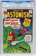 Silver Age (1956-1969):Superhero, Tales to Astonish #44 (Marvel, 1963) CGC VG/FN 5.0 Off-white towhite pages....