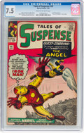 Silver Age (1956-1969):Superhero, Tales of Suspense #49 (Marvel, 1964) CGC VF- 7.5 Cream to off-whitepages....