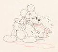 Animation Art:Production Drawing, Mickey's Garden Mickey Mouse Animation Drawing (Walt Disney, 1935). ...