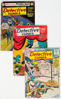 Silver Age (1956-1969):Superhero, Detective Comics Group of 4 (DC, 1951-55)... (Total: 4 Items)