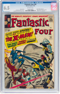 Silver Age (1956-1969):Superhero, Fantastic Four #28 (Marvel, 1964) CGC FN+ 6.5 Off-white pages....
