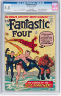 Silver Age (1956-1969):Superhero, Fantastic Four #4 (Marvel, 1962) CGC VG/FN 5.0 White pages....