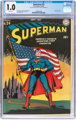 Superman #24 (DC, 1943) CGC FR 1.0 White pages