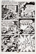 Original Comic Art:Panel Pages, Jack Kirby and Mike Thibodeaux Captain Victory and the Galactic Rangers #8 Story Page 20 Original Art (Pacific Com...