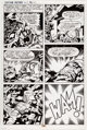Jack Kirby and Mike Thibodeaux Captain Victory and the Galactic Rangers #8 Story Page 20 Original Art (Pacific Com