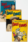 Golden Age (1938-1955):Western, Dale Evans Comics Group of 9 (DC, 1948-56) Condition: Average VG.... (Total: 9 Items)