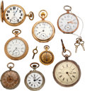 Timepieces:Pocket (pre 1900) , Eight Pocket Watches. ... (Total: 8 Items)