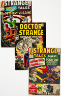 Silver Age (1956-1969):Superhero, Strange Tales Group of 30 (Marvel, 1964-75) Condition: Average FN-.... (Total: 30 Comic Books)