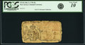 Colonial Notes:New Jersey, New Jersey July 2, 1746 6 Pounds NJ-64. PCGS Very Good 10Apparent.. ...