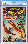 Silver Age (1956-1969):Superhero, The Amazing Spider-Man #17 (Marvel, 1964) CGC FN+ 6.5 Off-white towhite pages....