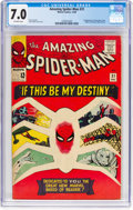 Silver Age (1956-1969):Superhero, The Amazing Spider-Man #31 (Marvel, 1965) CGC FN/VF 7.0 Off-whitepages....