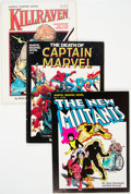 Modern Age (1980-Present):Miscellaneous, Marvel Graphic Novel #1, 4, and 7 Group (Marvel, 1982-83).... (Total: 3 Comic Books)