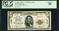 National Bank Notes:North Carolina, Mebane, NC - $5 1929 Ty. 1 The First NB Ch. # 11697 PCGS About New 50.. ...