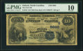 Oxford, NC - $10 1882 Date Back Fr. 545 The First NB Ch. # (S)5885 PMG Very Good 10