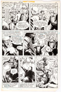 Original Comic Art:Panel Pages, Mike Gustovich (as Mike Adams) and Tex Blaisdell Ghosts #97 partialStory Group of 3 Original Art (DC Comics, 1981). ... (Total: 3Original Art)
