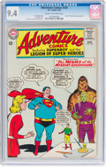 Silver Age (1956-1969):Superhero, Adventure Comics #330 (DC, 1965) CGC NM 9.4 Cream to off-whitepages....