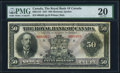 Canadian Currency, Montreal, PQ- Royal Bank of Canada $50 3.1.1927 Ch. # 630-14-16 PMGVery Fine 20.. ...