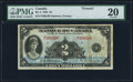Canadian Currency, BC-4 $2 1935 PMG Very Fine 20.. ...