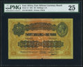 World Currency, East Africa East African Currency Board 20 Shillings = £1 15.12.1921 Pick 15 PMG Very Fine 25.. ...