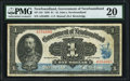 Canadian Currency, St. John's, NF- Government of Newfoundland $1 1920 Ch. NF-12d PMG Very Fine 20.. ...