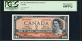 Canadian Currency, BC-30a $2 1954 Devil's Face PCGS Superb Gem New 68PPQ.. ...