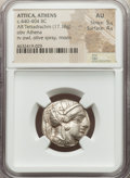 Ancients: ATTICA. Athens. Ca. 440-404 BC. AR tetradrachm (23mm, 17.18 gm, 2h). NGC AU 5/5 - 4/5