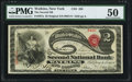 Watkins, NY - $2 Original Fr. 387a The Second NB Ch. # 456 PMG About Uncirculated 50