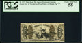 Fractional Currency:Third Issue, Fr. 1373 50¢ Third Issue Justice PCGS Choice About New 58.. ...