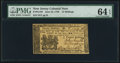Colonial Notes:New Jersey, New Jersey June 22, 1756 12s PMG Choice Uncirculated 64 EPQ.. ...
