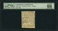 Colonial Notes:Connecticut, Connecticut October 11, 1777 3d PMG Gem Uncirculated 66 EPQ.. ...