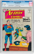 Silver Age (1956-1969):Superhero, Action Comics #245 (DC, 1958) CGC VF- 7.5 Off-white to whitepages....
