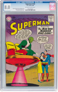 Silver Age (1956-1969):Superhero, Superman #136 (DC, 1960) CGC VF 8.0 Off-white to white pages....