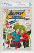 Silver Age (1956-1969):Superhero, Action Comics #270 (DC, 1960) CBCS VF 8.0 Off-white to whitepages....