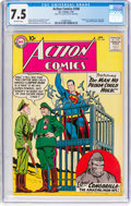 Silver Age (1956-1969):Superhero, Action Comics #248 (DC, 1959) CGC VF- 7.5 Off-white pages....