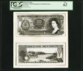Canadian Currency, BC-UNL $20 1966 Photographic Face and Back Essays PCGS New 62.. ...