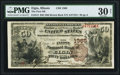 National Bank Notes:Illinois, Elgin, IL - $50 1882 Brown Back Fr. 514 The First NB Ch. # 1365 PMG Very Fine 30 Net.. ...