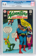 Silver Age (1956-1969):Superhero, Adventure Comics #377 Twin Cities Pedigree (DC, 1969) CGC NM 9.4Off-white to white pages....