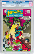 Silver Age (1956-1969):Superhero, Adventure Comics #370 (DC, 1968) CGC NM+ 9.6 Off-white pages....