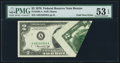 Error Notes:Foldovers, Fr. 1935-A $2 1976 Federal Reserve Note. PMG About Uncirculated 53EPQ.. ...