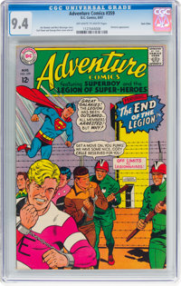 Adventure Comics #359 Twin Cities Pedigree (DC, 1967) CGC NM 9.4 Off-white to white pages