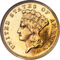 1885 $3 MS63 Prooflike ANACS....(PCGS# 78007)