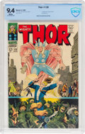 Silver Age (1956-1969):Superhero, Thor #138 (Marvel, 1967) CBCS NM 9.4 White pages....