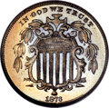 Proof Shield Nickels, 1873 5C Closed 3 PR67 NGC....