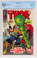 Silver Age (1956-1969):Superhero, Thor #144 (Marvel, 1967) CBCS VF+ 8.5 White pages....