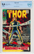 Silver Age (1956-1969):Superhero, Thor #145 (Marvel, 1967) CBCS NM 9.4 White pages....