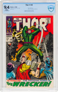 Silver Age (1956-1969):Superhero, Thor #148 (Marvel, 1968) CBCS NM 9.4 White pages....