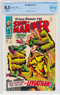 Silver Age (1956-1969):Superhero, The Sub-Mariner #3 (Marvel, 1968) CBCS VF+ 8.5 White pages....