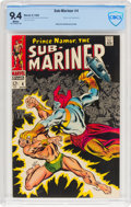 Silver Age (1956-1969):Superhero, The Sub-Mariner #4 (Marvel, 1968) CBCS NM 9.4 White pages....