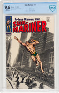 Silver Age (1956-1969):Superhero, The Sub-Mariner #7 (Marvel, 1968) CBCS NM+ 9.6 White pages....